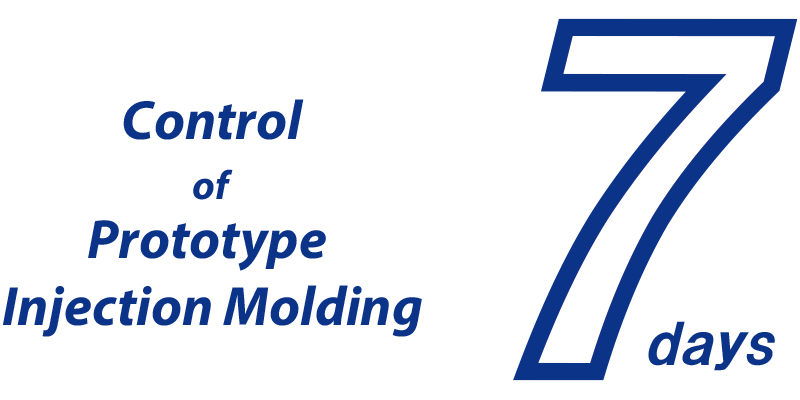 Control of Prototype Injection Molding 7days