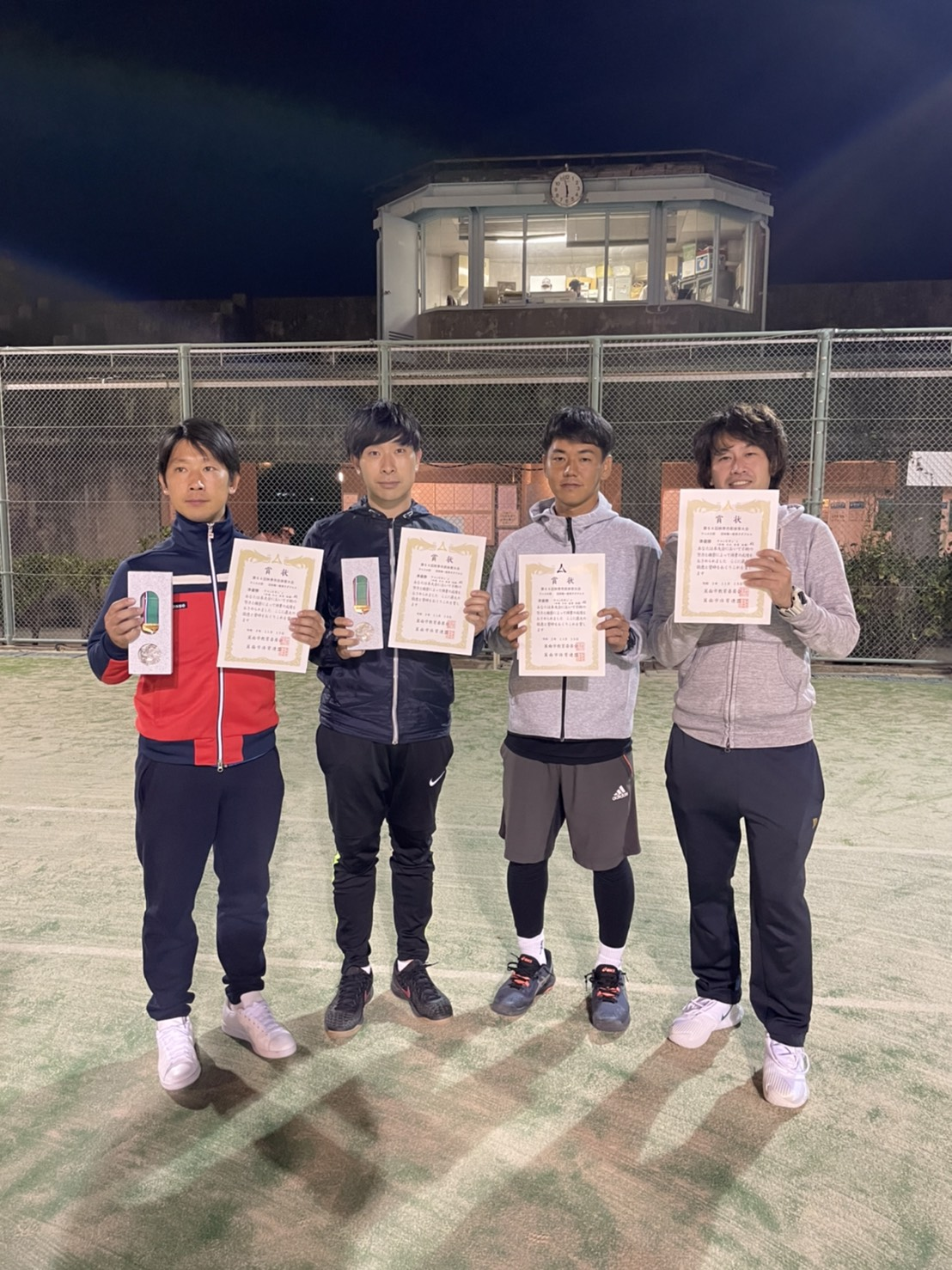 【TEAM STUFF】テニスチーム団体戦好成績!!